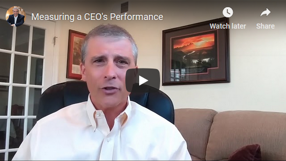 Measuring a CEO's Performance